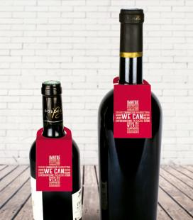 Collarín para botella de vino