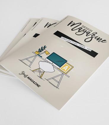 Catálogo grapado A4 hasta 40 páginas