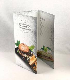 Díptico o Triptico Cartas / Menú Restaurante
