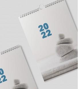 Calendari paret espiral (1-2 tintas)